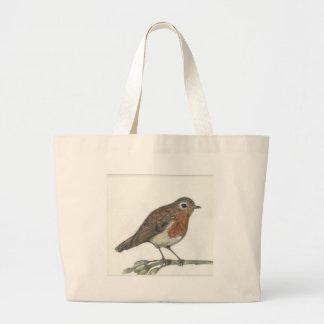 Multimedia Robin Large Tote Bag