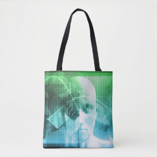 Multimedia Technology Digital Devices Information Tote Bag