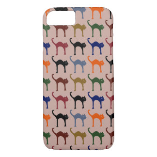 multiple cats ~ animal pattern iPhone 7 case