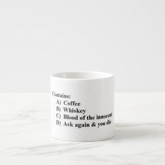 Multiple Choice Coffee Mug Espresso Mug
