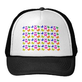 Multiple Colored Butterflies Pattern Cap