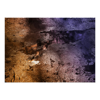Multiple Colors Nature Abstract Photography Poster