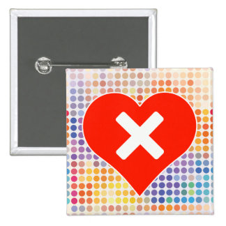 Multiple Fan 15 Cm Square Badge