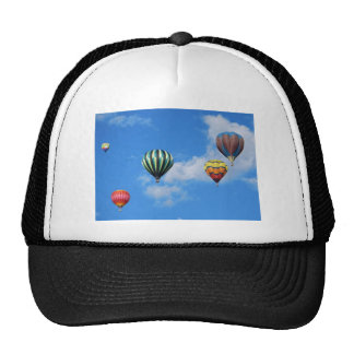 Multiple Hot Air Balloons in the Sky Cap