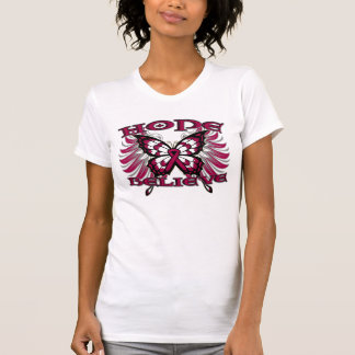 Multiple Myeloma Hope Believe Butterfly T-shirts