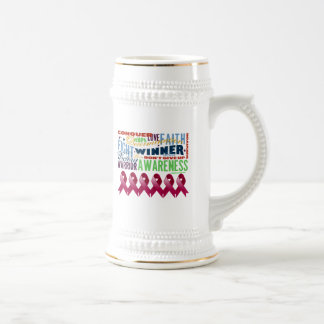 Multiple Myeloma Inspirational Words Beer Steins