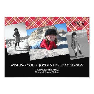 Multiple Photos Christmas Card