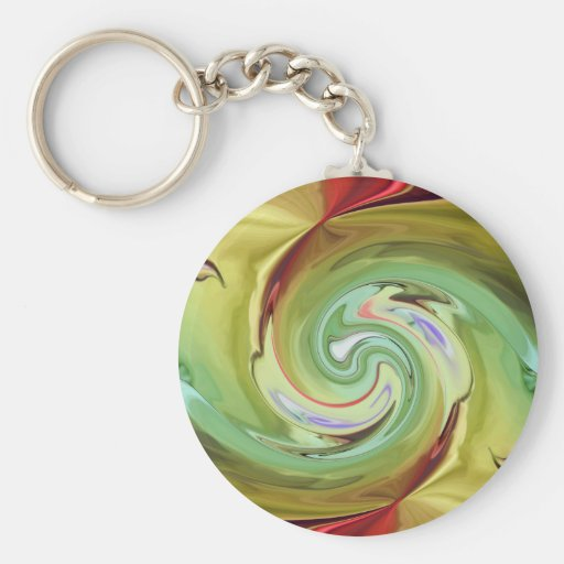 MULTIPLE PRODUCTS DESIGN-Untitled abstract Key Chains