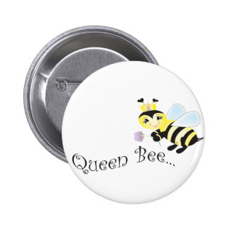 (multiple products selected )Queen Bee 6 Cm Round Badge