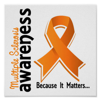 Multiple Sclerosis Awareness 5 Poster