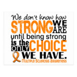 Multiple Sclerosis How Strong We Are Postcards