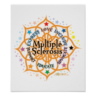 Multiple Sclerosis Lotus Poster