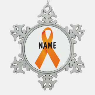 Multiple Sclerosis Memorial Ribbon Ornament