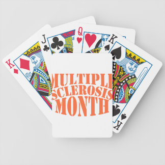 Multiple Sclerosis Month - Appreciation Day Bicycle Playing Cards