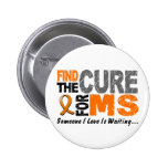 Multiple Sclerosis MS Find The Cure 1 Buttons