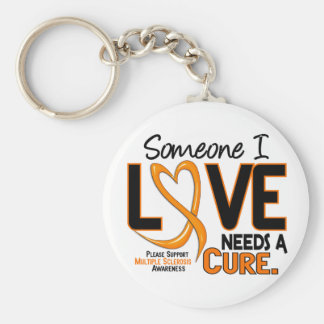 Multiple Sclerosis NEEDS A CURE 2 Key Ring