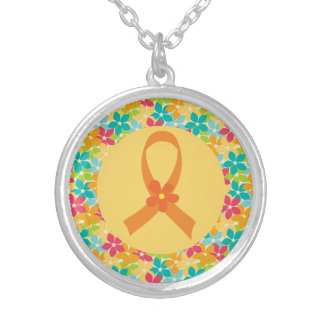 Multiple Sclerosis Orange Awareness Ribbon Jewelry