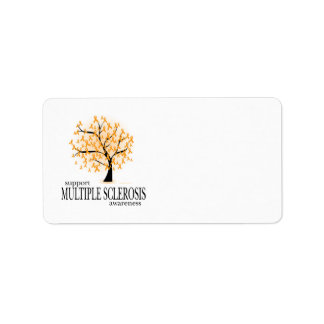 Multiple Sclerosis Tree Address Label