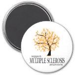 Multiple Sclerosis Tree Fridge Magnet