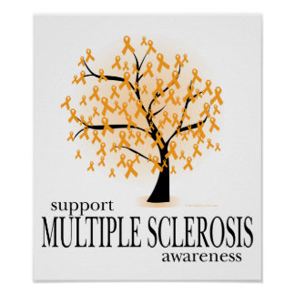 Multiple Sclerosis Tree Poster