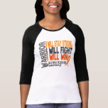 Multiple Sclerosis Warrior T Shirts