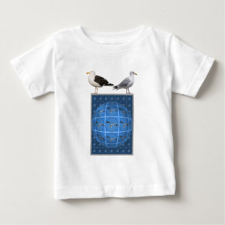 Multiple seagulls in sphere baby T-Shirt