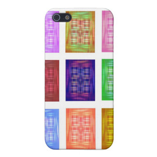 Multiple Silk Screen Squares Repeated iPhone 5/5S Cases