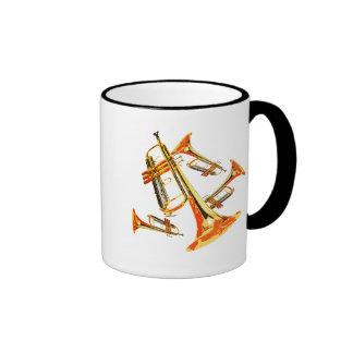 Multiple Trumpets Ringer Mug