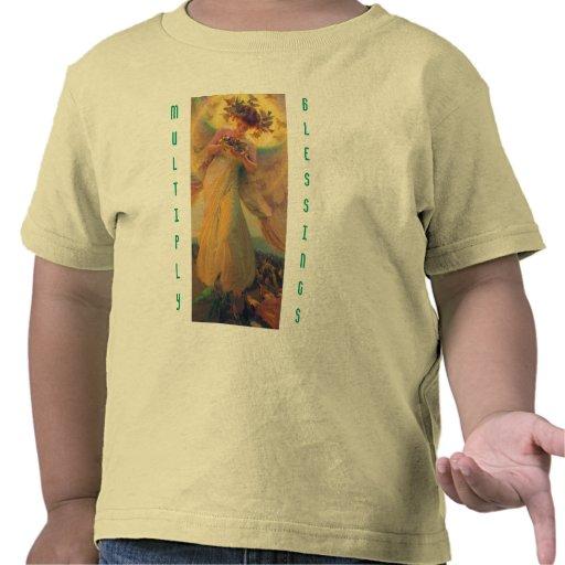 Multiply Blessings toddler shirt