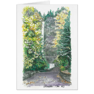 Multnomah Fall Card