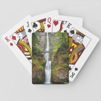 Multnomah Falls Along The Columbia River Gorge Card Decks