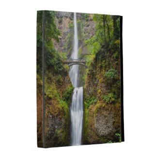 Multnomah Falls Along The Columbia River Gorge iPad Case