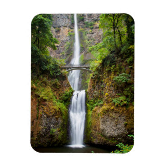 Multnomah Falls Along The Columbia River Gorge Magnet