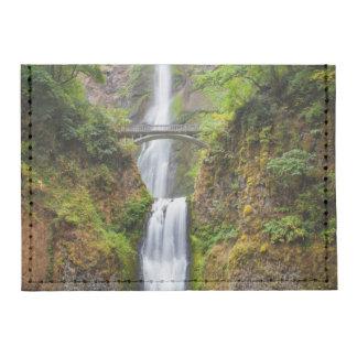 Multnomah Falls Along The Columbia River Gorge Tyvek® Card Case Wallet