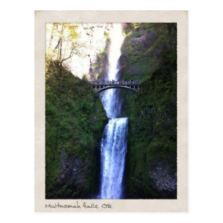 Multnomah Falls, Oregon Postcard
