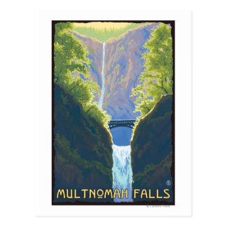 Multnomah Falls, OregonMaiden of the Falls Postcard