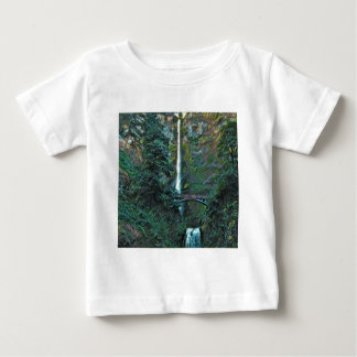 Multnomah Falls Portland Oregon Baby T-Shirt