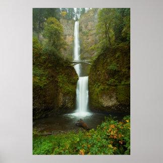 Multnomah Falls Waterfall Photo Print