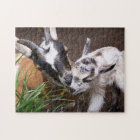Mum and Baby Goat Jigsaw Puzzle