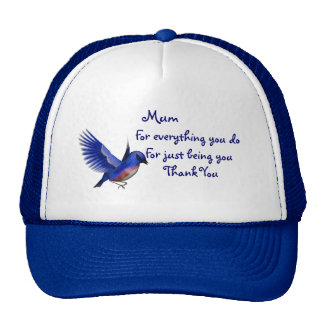 Mum and Hearts Cap
