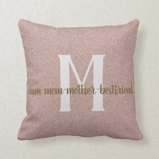 Mum - Best friend Cushion