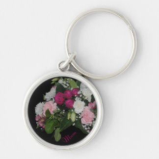 Mum Bunch of Flowers Keychain