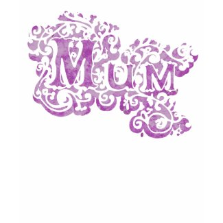 Mum decorative top shirt