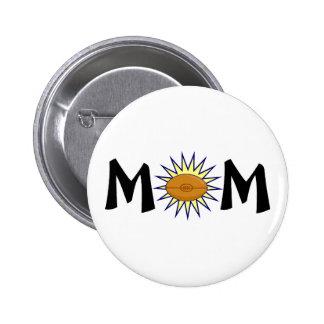 Mum Football Pin