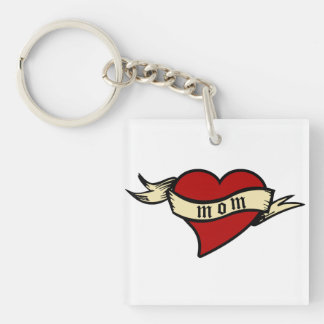 Mum Heart Keychain Mother's Day