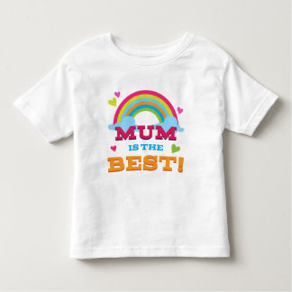 Mum Is the Best T-shirts