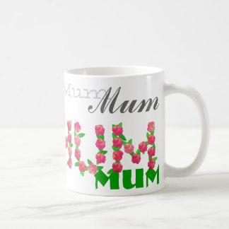 Mum Mum Mum Basic White Mug