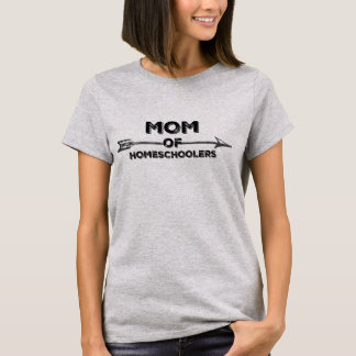 Mum of Homeschoolers T-Shirt