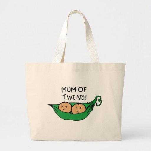 Mum of Twin Pod Bag