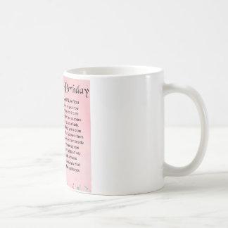 Mum Poem - 50th Birthday Coffee Mug